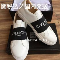 GIVENCHY Casual Style Street Style Bi-color Leather Low-Top Sneakers