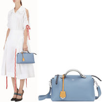 FENDI BY THE WAY By The Way Regular Boston Bag / Blue