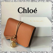 Chloe Calfskin Folding Wallets