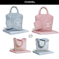 CHANEL Casual Style Bag in Bag Plain Totes