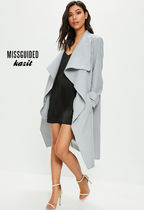 Missguided Casual Style Long Jackets