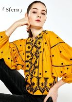 Sfera Casual Style Puff Sleeves Shirts & Blouses