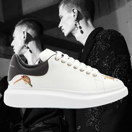Unisex Other Animal Patterns Leather Oversized Sneakers