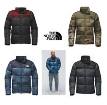 THE NORTH FACE Camouflage Unisex Street Style Plain Down Jackets