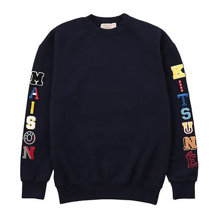 Crew Neck Unisex Long Sleeves Cotton Sweatshirts