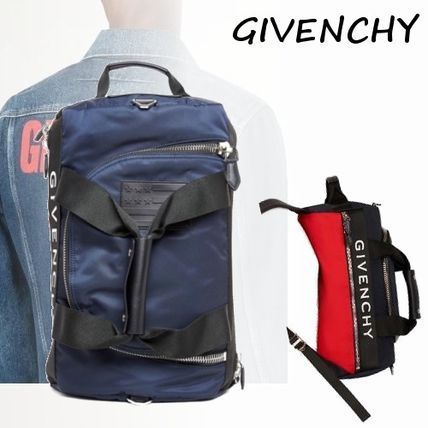 Nylon Street Style 2WAY Bi-color Backpacks