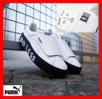 PUMA Platform Casual Style Street Style Leather