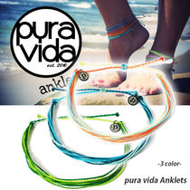 Pura Vida Casual Style Unisex Street Style Anklets