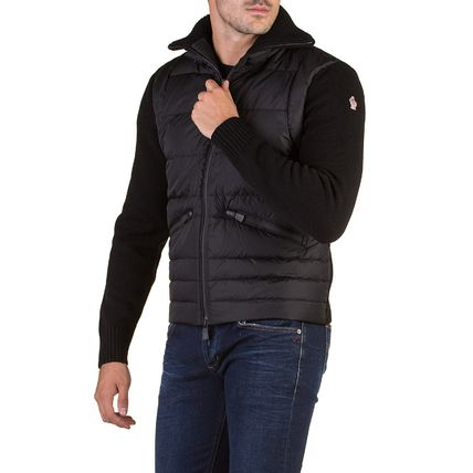 MONCLER GRENOBLE Short Wool Down Jackets