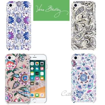 Blended Fabrics Street Style Silicon Smart Phone Cases