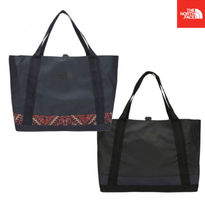 THE NORTH FACE Casual Style Unisex 2WAY Plain Totes