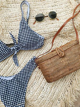 SURRENDER THE LABEL Straw Bags