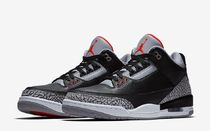 Nike AIR JORDAN 3 Casual Style Unisex Street Style Low-Top Sneakers
