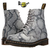 Dr Martens Platform Round Toe Casual Style Street Style