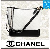CHANEL Calfskin A4 Elegant Style Totes