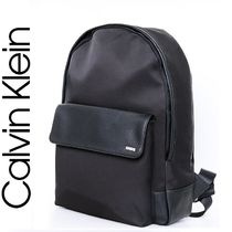 Calvin Klein Unisex Cambus A4 Plain Backpacks