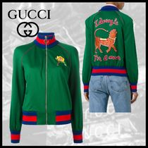 GUCCI Flower Patterns Casual Style Other Animal Patterns Medium