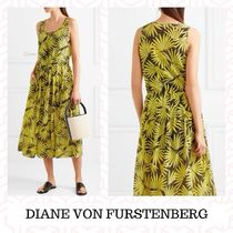 DIANE von FURSTENBERG Maxi Sleeveless Cotton Medium Dresses