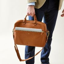 marc AND graham A4 Plain Leather Business & Briefcases