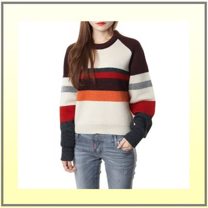 Casual Style Wool Sweaters