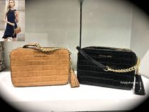 Michael Kors Crocodile Tassel Shoulder Bags