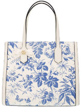 GUCCI Flower Patterns Elegant Style Handbags