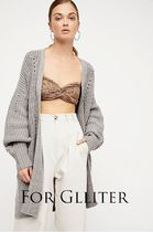 Free People Casual Style Wool Plain Long Bandeau & Off the Shoulder