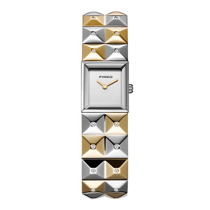 Square Party Style Quartz Watches Stainless Analog Watches