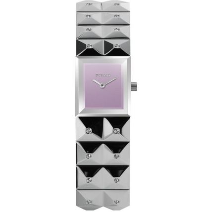 Square Quartz Watches Stainless Elegant Style Analog Watches