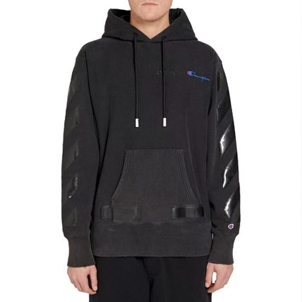 Off-White Hoodies Street Style Collaboration Long Sleeves Cotton Hoodies 8