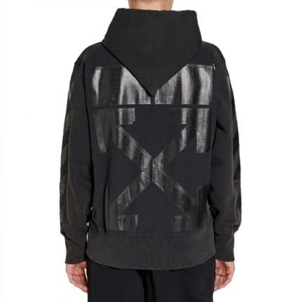 Off-White Hoodies Street Style Collaboration Long Sleeves Cotton Hoodies 9