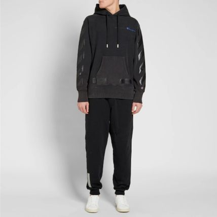 Off-White Hoodies Street Style Collaboration Long Sleeves Cotton Hoodies 10