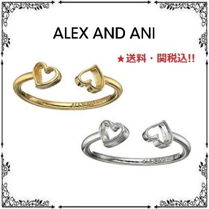 Casual Style Unisex Silver 14K Gold Rings