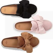 UGG Australia Casual Style Suede Plain Slippers Sandals Sandals