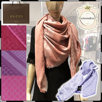 GUCCI Silk Party Style Lightweight Scarves & Shawls