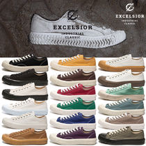 EXCELSIOR Unisex Street Style Plain Oversized Sneakers
