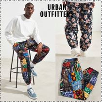 Urban Outfitters Printed Pants Flower Patterns Street Style Cotton