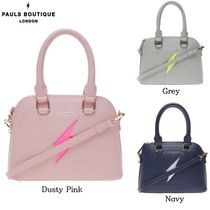 Paul's Boutique Casual Style Street Style 2WAY Totes