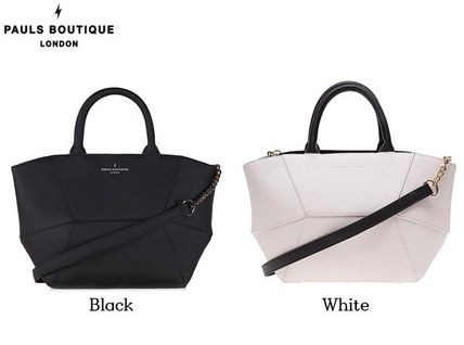 Casual Style Street Style 2WAY Plain Totes