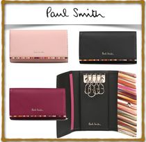 Paul Smith Unisex Leather Keychains & Bag Charms