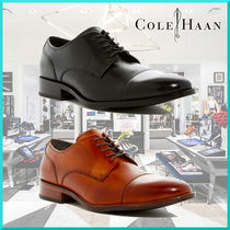 Cole Haan Straight Tip Plain Oxfords