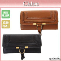 Chloe Marcie Leather Long Wallets