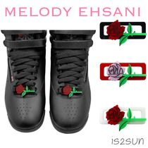 MELODY EHSANI Flower Patterns Casual Style Street Style Shoes