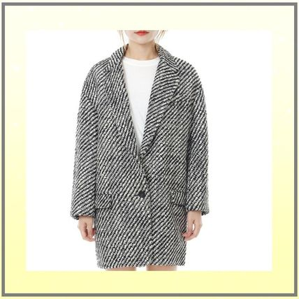Casual Style Wool Coats