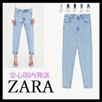 ZARA Casual Style Cotton Jeans