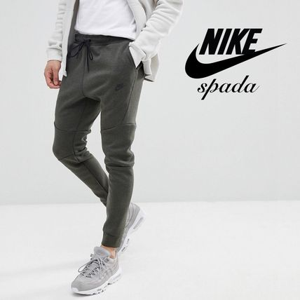 Sweat Street Style Plain Joggers & Sweatpants