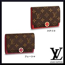 Louis Vuitton MONOGRAM Monogram Canvas Studded Folding Wallets