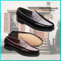 Allen Edmonds Plain Leather Oxfords