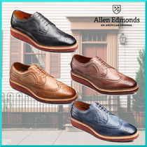Allen Edmonds Wing Tip Plain Leather Oxfords