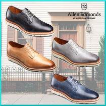 Allen Edmonds Plain Toe Plain Leather Oxfords